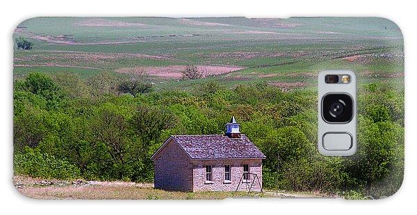 Lower Fox Creek Schoolhouse In The Flint Hills Of Kansas Galaxy Case