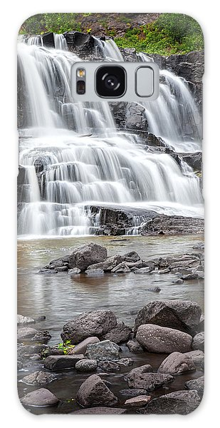 Lower Gooseberry Falls Galaxy Case