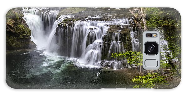 Lower Lewis River Falls Galaxy Case
