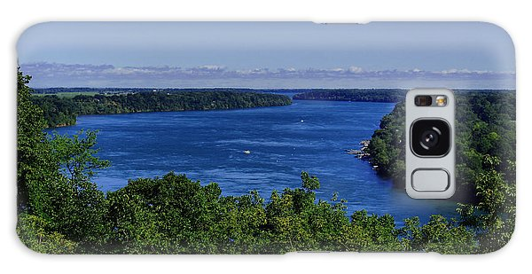 Lower Niagara River Galaxy Case by Nicky Jameson