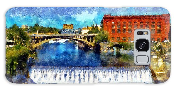 Lower Spokane Falls Galaxy Case