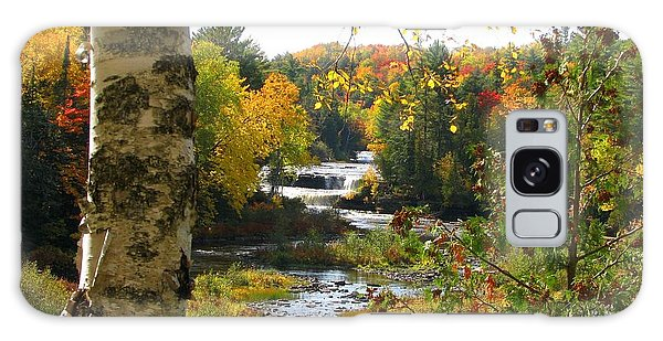 Lower Tahquamenon Falls In October No 1 Galaxy Case