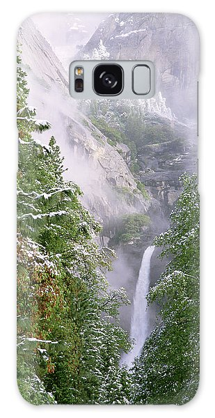 Lower Yosemite Falls After A Spring Storm Galaxy Case