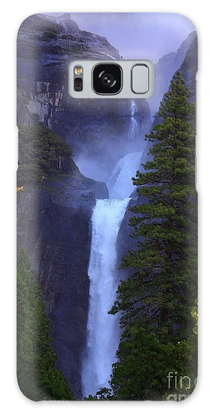 Lower Yosemite Falls Galaxy Case