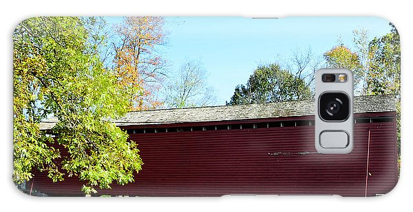 Loy's Station Covered Bridge Galaxy Case