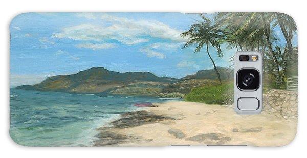 Lualualei Beach Galaxy Case