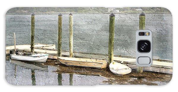 Lubec - Maine Boat Dock  Galaxy Case