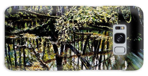 Lubianka-4 Mystery Of Swamp Forest Galaxy Case by Henryk Gorecki