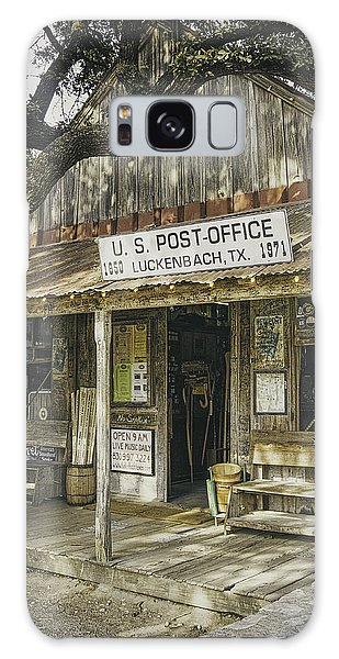 Weathered Galaxy Case - Luckenbach by Scott Norris