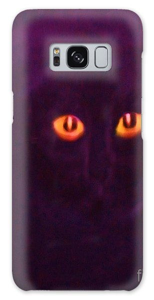 Lucky Black Cat Galaxy Case