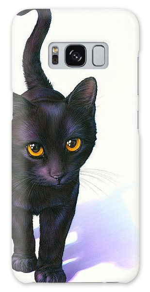 Halloween Galaxy Case - Lucky Cat by MGL Meiklejohn Graphics Licensing