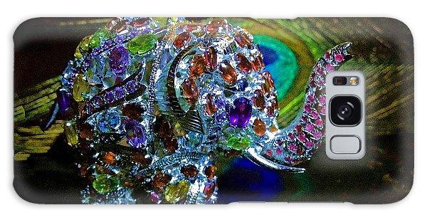 Lucky Jeweled Elephant Galaxy Case