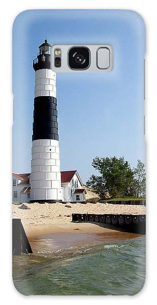 Ludington Michigan's Big Sable Lighthouse Galaxy Case