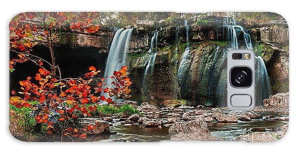 Ludlowville Falls Galaxy Case