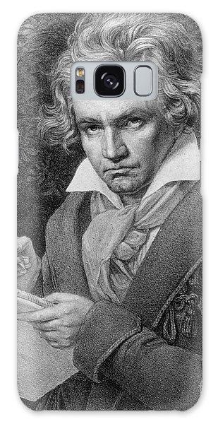 Portraiture Galaxy Case - Ludwig Van Beethoven by Joseph Carl Stieler