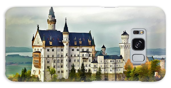 Neuschwanstein Castle In Bavaria Germany Galaxy Case