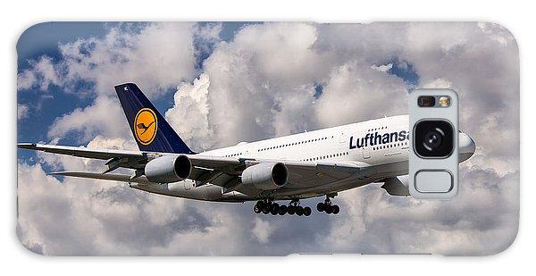 Lufthansa A380 Hamburg Galaxy Case