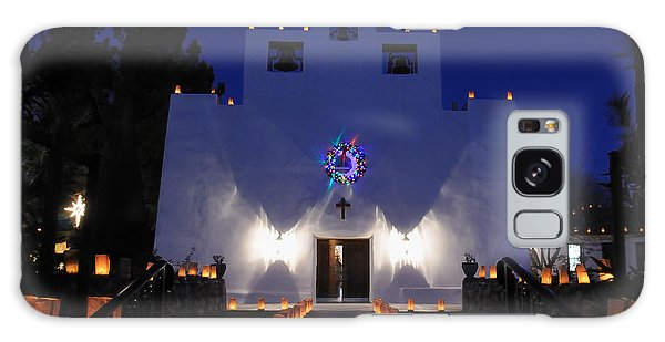 Luminarias At St Francis De Paula Galaxy Case by Vivian Christopher