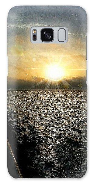 Luminous Sunrise Of Hope Galaxy Case by Joetta Beauford