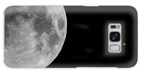 Luna And Jupiter Galaxy Case by Jason Politte
