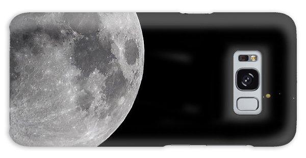 Luna And Jupiter Galaxy Case by Jason Politte