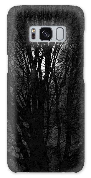 Luna Lit Trees Galaxy Case by Bruce Carpenter