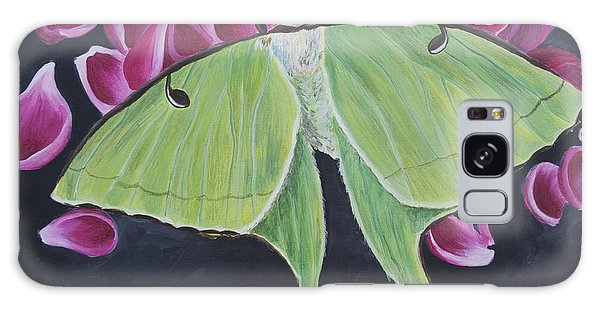 Luna Moth Galaxy Case