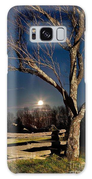 Lunar Landing - Blue Ridge Parkway Galaxy Case by Dan Carmichael