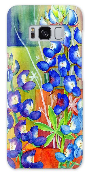 Bloom Galaxy Case - Lupinus Texensis by Hailey E Herrera