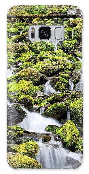 Ecosystem Galaxy Case - Lush Area With Small Creek by Tom Norring