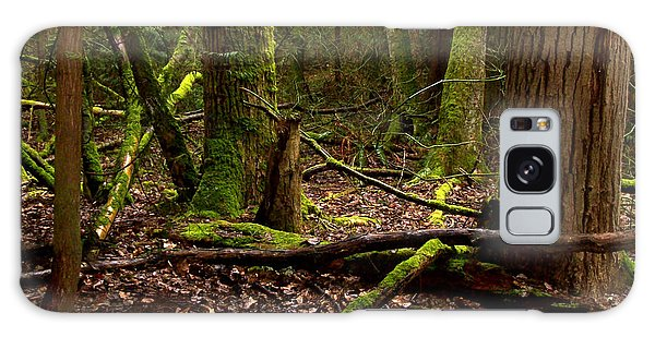 Lush Green Forest Galaxy Case