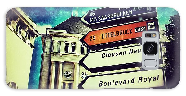 Luxembourg City Galaxy Case