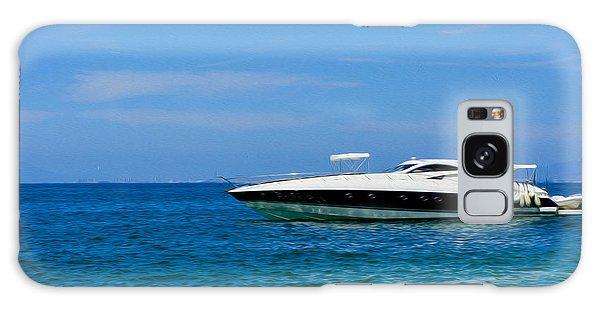 Motor Yacht Galaxy Case - Luxury Boat by Aged Pixel