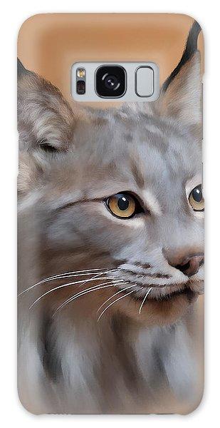 Lynx Portrait Galaxy Case