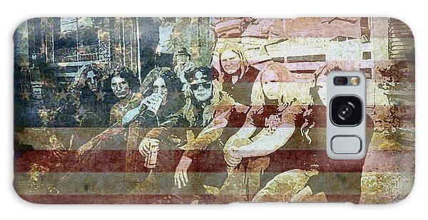 Classic Rock Galaxy Case - Lynyrd Skynyrd - Simple Man by Absinthe Art By Michelle LeAnn Scott