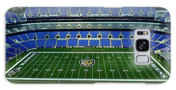 M And T Bank Stadium Galaxy Case by Robert Geary