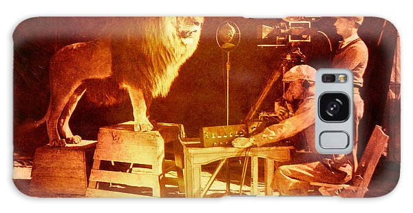 M G M Filming Of Leo The Lion Production Logo 1917 To 1928 Galaxy Case