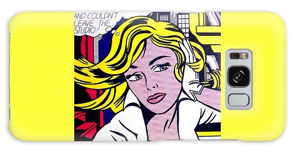 M-maybe Galaxy Case by Roy Lichtenstein