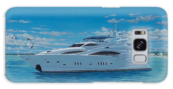 Motor Yacht Galaxy Case - M/y Giga-btye by Danielle  Perry