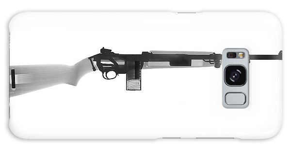 Calico M100 Galaxy Case - M1 Carbine X-ray Photograph by Ray Gunz