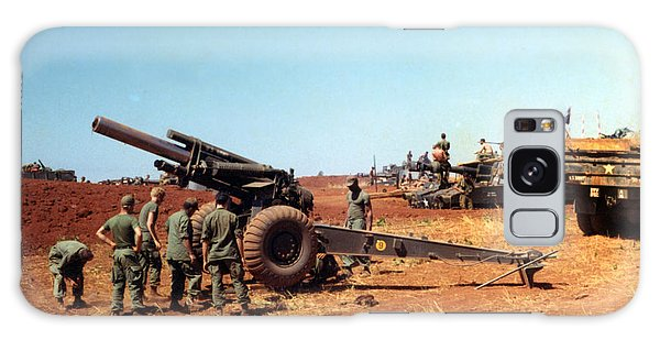 M114 155 Mm Howitzer Was A Towed Howitzer 4th Id Pleiku Vietnam Novembr 1968 Galaxy Case