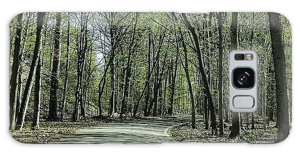 M119 Tunnel Of Trees Michigan Galaxy Case