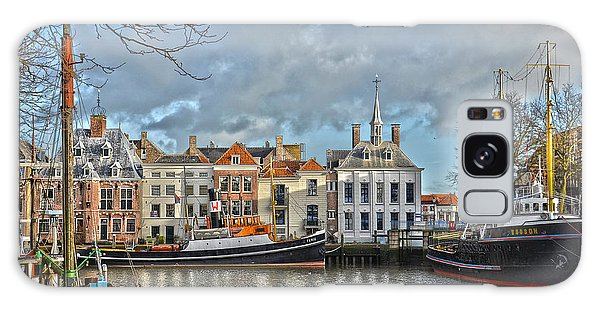 Maassluis Harbour Galaxy Case