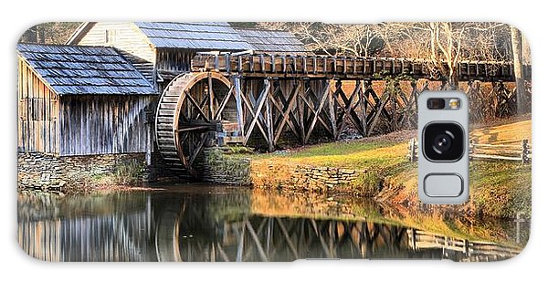 Mabry Grist Mill Fall Panorama Galaxy Case