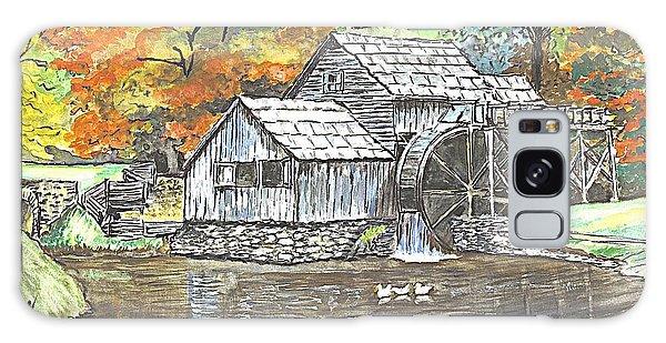 Mabry Grist Mill In Virginia Usa Galaxy Case by Carol Wisniewski