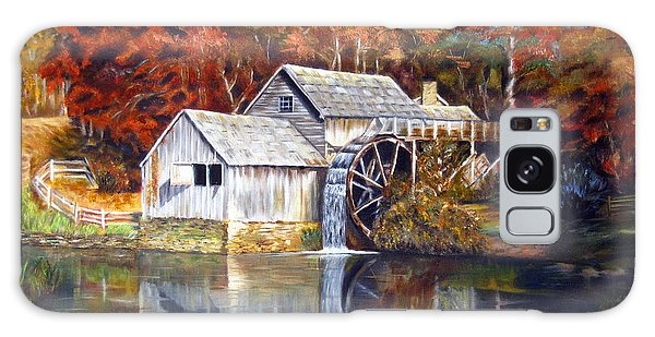 Mabry Mill Blue Ridge Virginia Galaxy Case