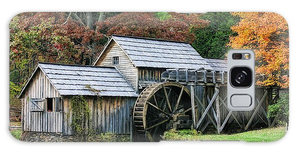 Mabry Mill II Galaxy Case by Joan Bertucci