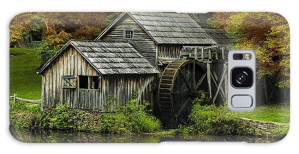 Mabry Mill In Autumn Galaxy Case