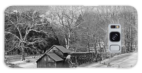 Mabry Mill In Snow Galaxy Case