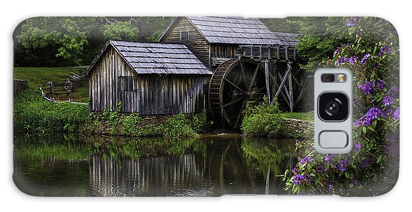 Mabry Mill In Spring Galaxy Case